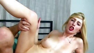 Image: Jessica Jensen takes a cock in her young twat