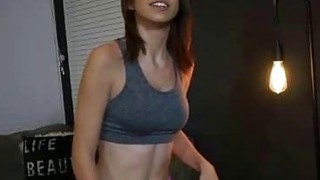 Image: Sporty Teen Stepsis Makes Stepbro Cum