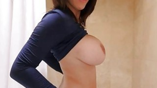 Perfect big ass babe Peta Jensen with huge tits in POV image