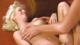 Bunny Bleu  Blonde Bimbo Playing With A Long Cock image