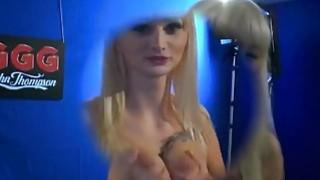 Image: Blonde Euro Slut Orgy Golden Shower Blowjob Fucking