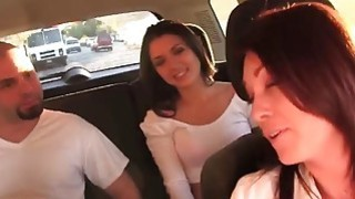 Daisy Summers and step mom fucking threesome image