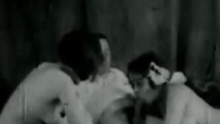 Vintage Threesome image