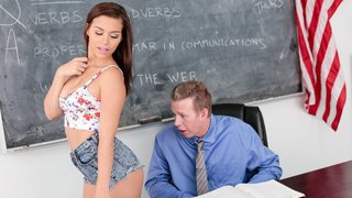 Image: Slutty student_aiming for the A plus