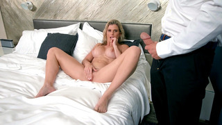 Image: Cory Chase's bellboy caught her masturbating and got his rod sucked