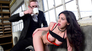 Julia De Lucia gets anal therapy from her Dr. Danny D image