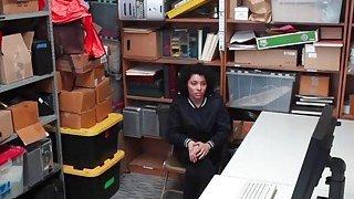 Hottie Maya Moreno Shoplifts And Gets Caught image
