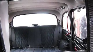Fake taxi driver relaxes and fucks babe image