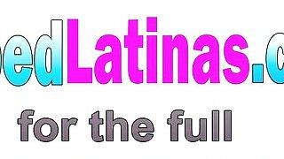 Image: Petite Latina Cyrus Blow Drops Clothes And Mounts Big Hard Dick