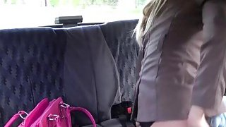 Lovely blonde and rich passenger gets her_pussy fucked hard image