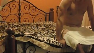 African cutie Alexis can't resist muscled white guy with big cock image
