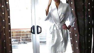 A hot stepmom masseuse Nina Elle gives an unforgettable massage image