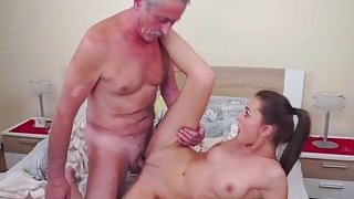 Czech Katy_Rose ride on an old guys cock image