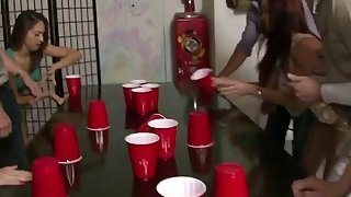 College Girls party and fuck as the evening goes by image
