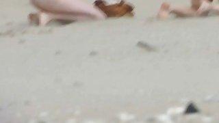 Image: Rousing nude beach voyeur spy cam video beach sex scenes