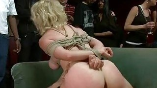 Pretty hot gal suffers_in hard servitude and sex! image