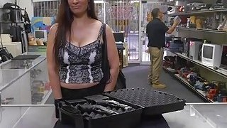 Image: Big ass Latina milf fucked from behing in the pawnshop