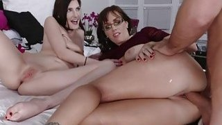 Image: Nina shared her bfs cock with mom Alana