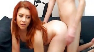 Beautiful Babe Swallow The Cum After Getting Fuck image