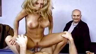 Housewife Gets Fucked In Front Of Husband And Loves_It image