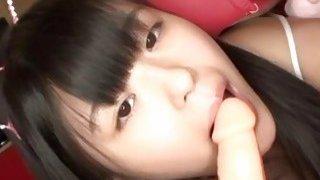 Jav Teen Reina Tsukimoto Teases In Girl Kini image