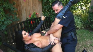 Image: Big breasted Romi Rain gets pounded by Keiran Lee outdoors