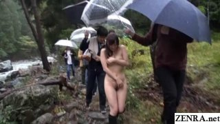 JAV outdoor nudity nature Yuu Kawakami Subtitles image