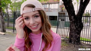Ultra hot teen Alex Blake gets public dicking_for 20 bucks image