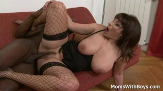 All Busty And Horny Mom Sex With Big Black Cock image