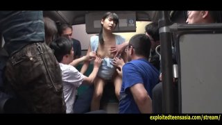 Jav Idol Suzu Yamai Fucked On Bus Old Guys Get The image
