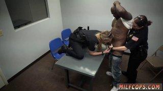 Lingerie clad blowjob xxx Milf Cops image