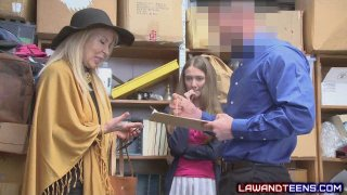 Teen Thief and Her Grandma_Got_Punished image