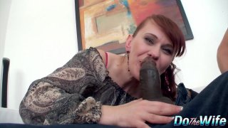Husband Helplessly Watches His Mature Wife Vera Delight Fuck a Black Man image