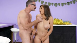 Image: Latina Ella Knox gets her big natural tits fucked