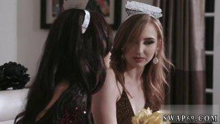 Image: Cute teen strip dance New Year New Swap
