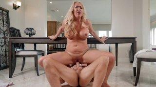 Busty Janna Hicks fucks and sucks the lucky prick image