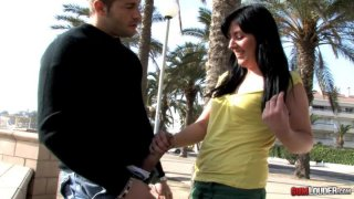 Sexy_Lorena_Fox_gives_a_blowjob_outdoor image
