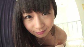 Image: Nozomi Hazuki sucks dick and swallows cum in POV