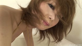 Asian chick Rika Sakurai will die for getting all her holes polished image