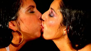 Outstanding lesbian pussy humping with Angelica Saige and Alexa Jaymes image