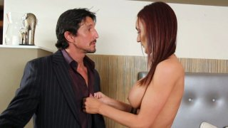 Horny_brunette_Holli_Heavens_masturbate_then_invites_her_lover image