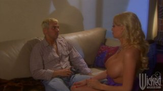 Two whorish housewives Stormy Daniels and Lindsey Meadows_switch their husbands image