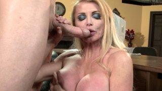Image: Passionate blonde whore Taylor Wane gets poked hard by Jordan Ash doggy style