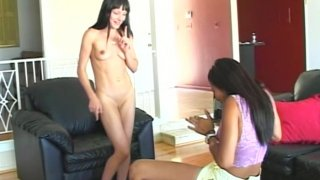 Slutty paparazzi Cytherea & Lily Thai love posing naked_on camera image