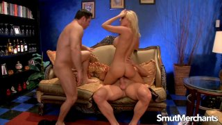 Holly Sampson Seduces Two_Men with Her Perfect MILF Tits image