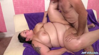 Image: BBW Valhalla Lee Gets Eaten up and Pounded by a Horny Geezer