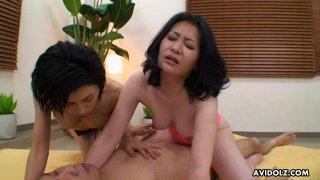 Nasty women Jun Ariga and Sachiko Hatanaga had a image