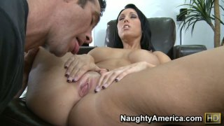 Beautiful_brunette_Dylan_Ryder_has_too_much_attention_at_work image