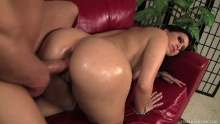 Plumpy brunette diva Valerie Kay gets drilled by Will Powers image