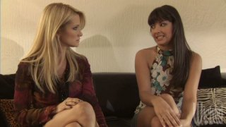 Jessica Drake and Carmen Hart pleasing each other image